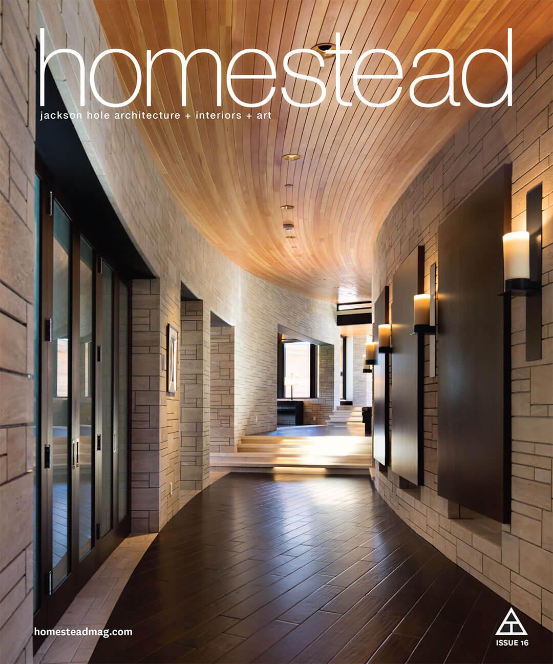 Homestead Magazine feature article.