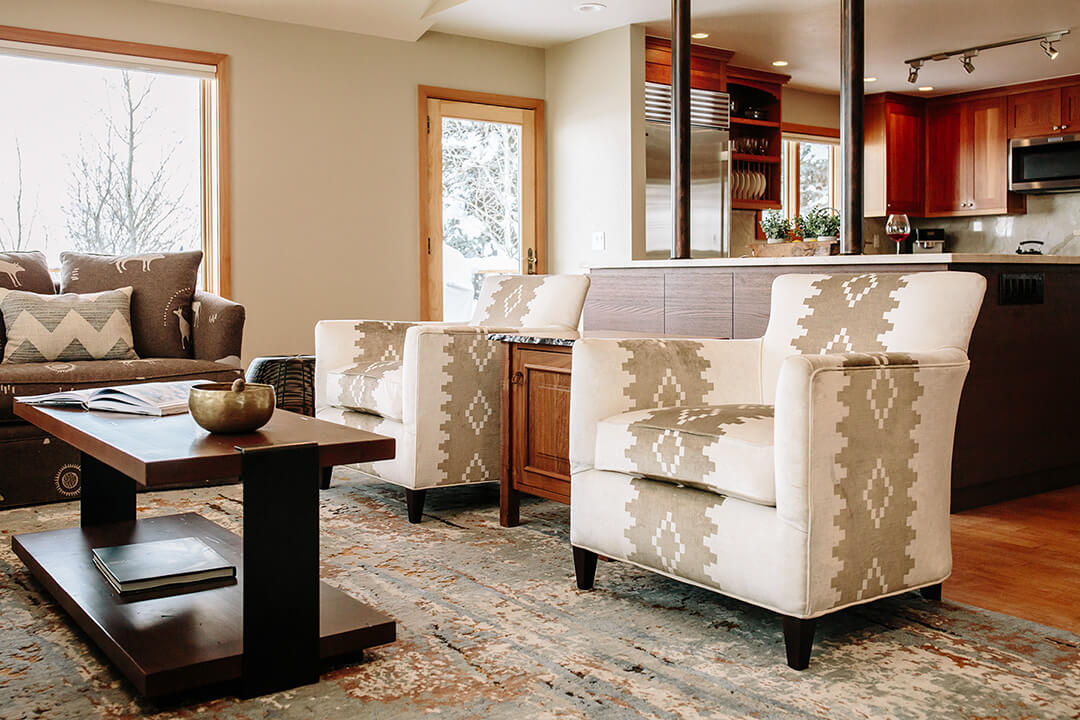 Rancher Street - Living Room and Kitchen
