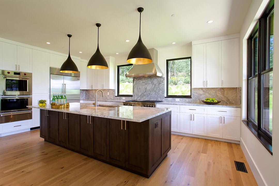 Fish Creek Spec Home - Kitchen