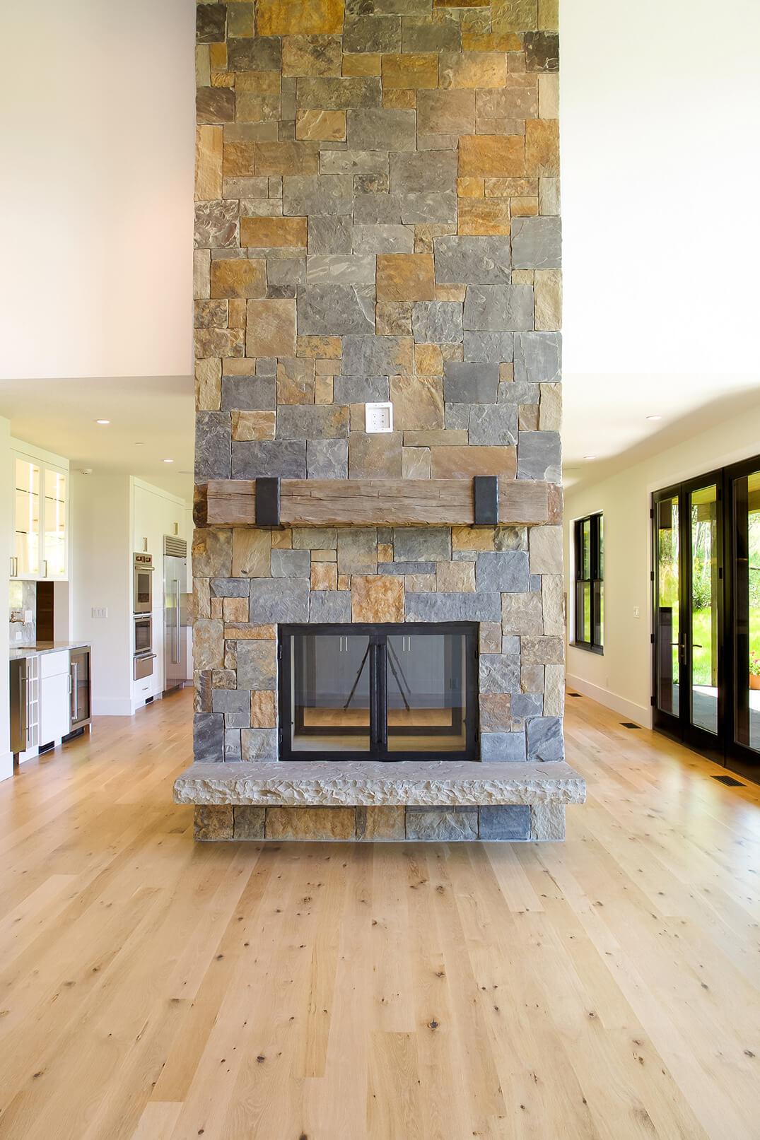 Fish Creek - Fireplace