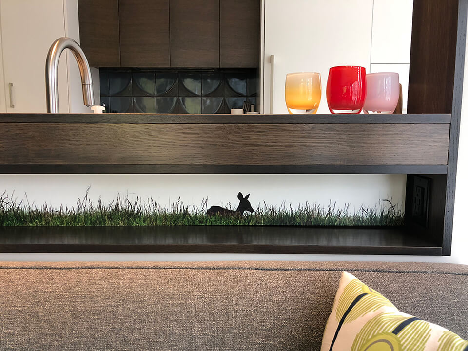 Hello Deer - detail, Robin Layton