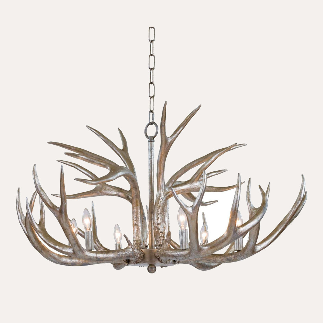 Bearcreek Antler Chandelier - Crafted from Resin