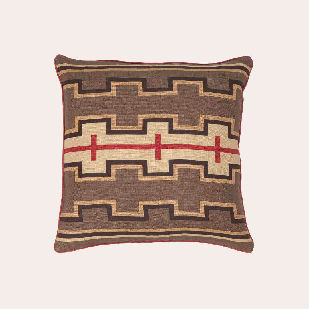 Chocolate Red Pillow